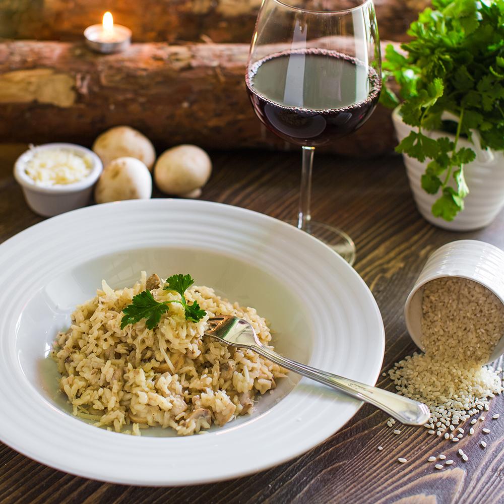 Riso Gallo pirinač sa pečurkama – zdrav obrok za vašu porodicu