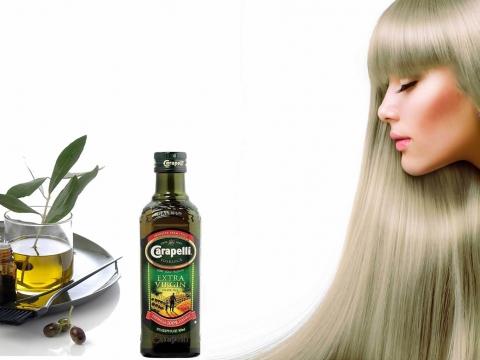 Maska za kosu  sa Carapelli maslinovim uljem
