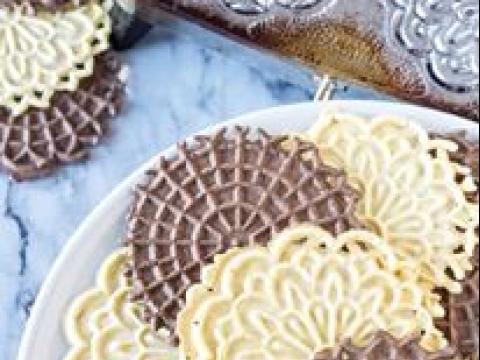 Italijanski svadbeni kolačići-pizzelle