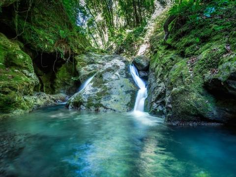 Tri čarobna vodopada Versilie