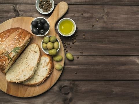 Hrskavi hleb sa Carapelli maslinovim uljem