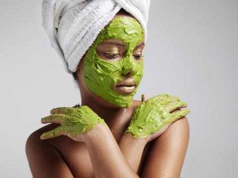 Magične zelene maske od avokada
