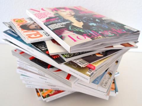 Udžbenici dizajna, lepote i stila – italijanski modni časopisi