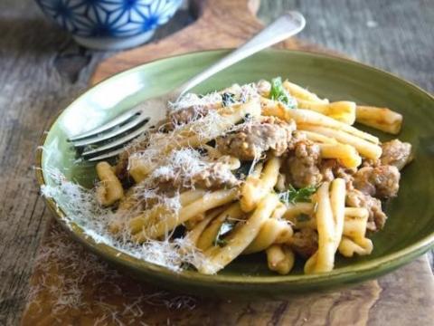 Casarecce, jedna od omiljenih pasta Italijana