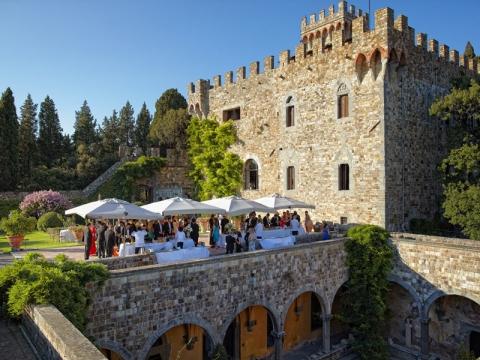 Venčanje iz bajke u toskanskim dvorcima