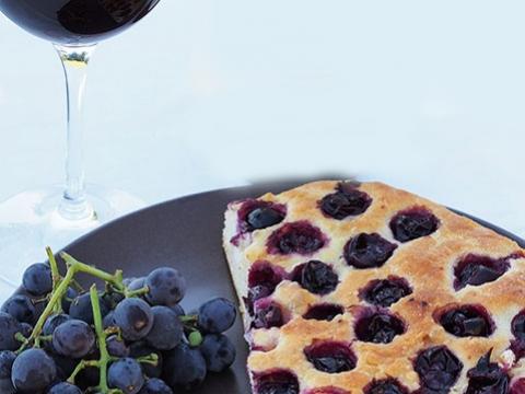 Toskanska Fokača sa grožđem