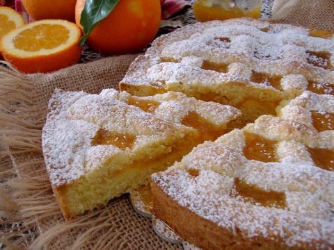Krostata sa marmeladom od pomorandže