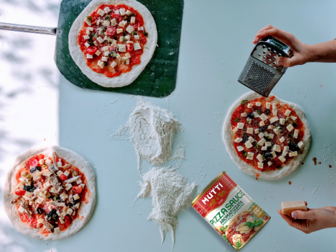 Nije teško biti sjajan kuvar uz Mutti pizza sos!