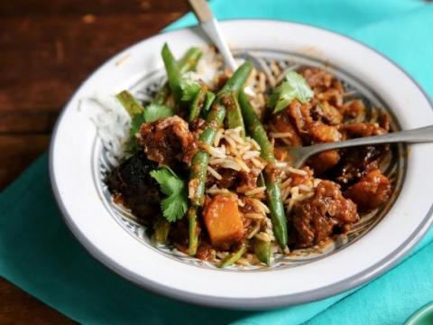 Piletina sa pirinčem i povrćem