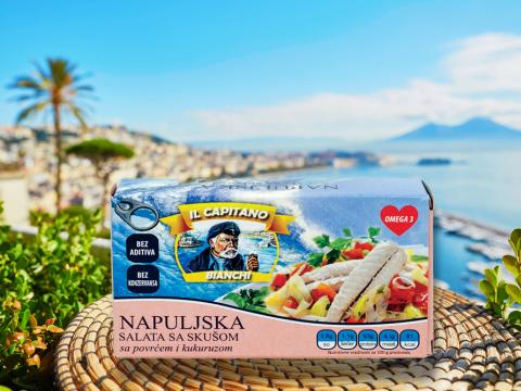 IL Capitano napuljska salata sa skušom za savršen početak dana