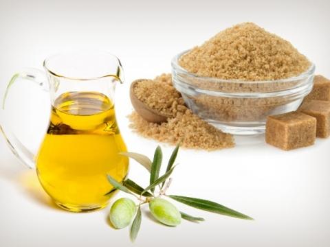 Domaći piling sa ekstra devičanskim maslinovim uljem