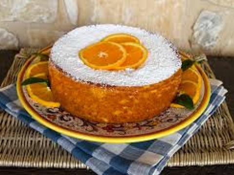 Pirinčani kolač sa pomorandžom