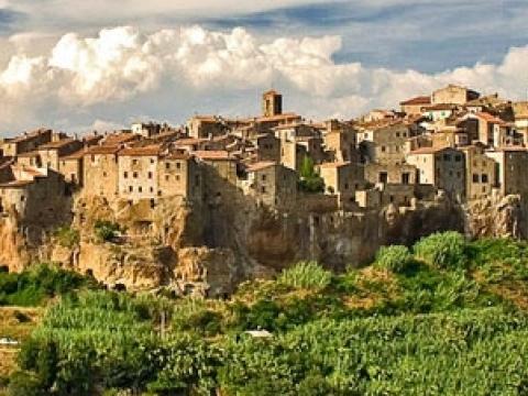 Mali Jerusalim u Toskani: Pitigliano, prizor koji oduzima dah
