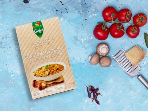 Riso Gallo Pronto sa pečurkama - zrno zdravlja za svačiji ukus