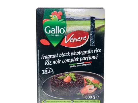 Riso Gallo Venere Black Rice 500g