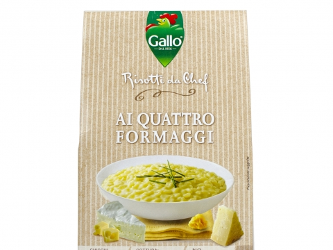 Riso Gallo Risotto Pronto 4 vrste sira