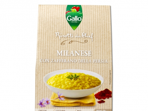 Riso Gallo Risotto Pronto Šafran