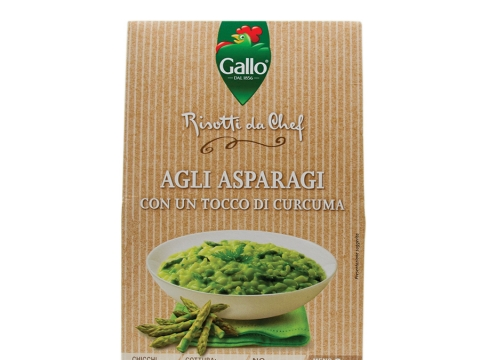Riso Gallo Risotto Pronto Asparagus 175g