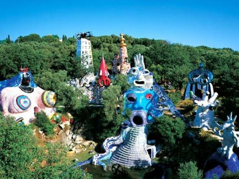 Sve tajne čarobnog Tarot vrta