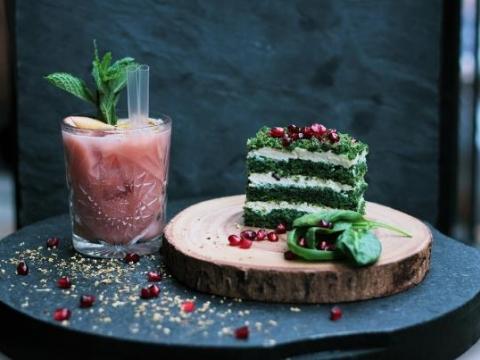 Zelena slana torta