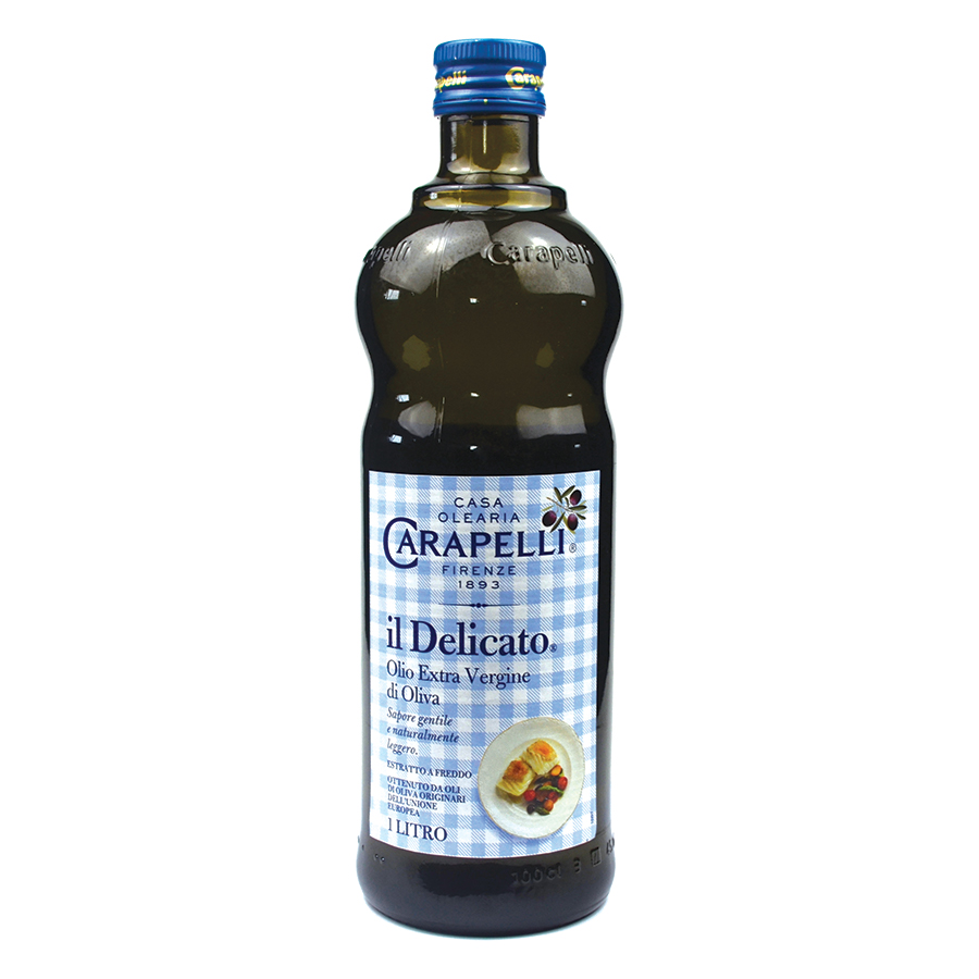 Carapelli Il Delicato Extra Virgin Olive Oil 1l