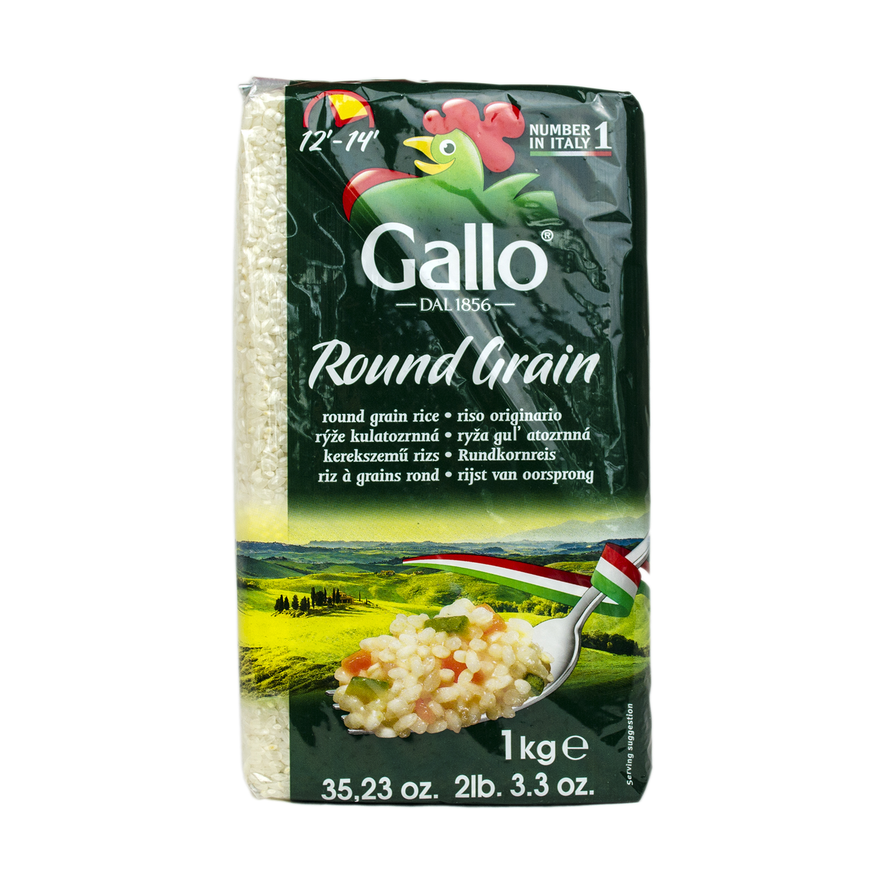 Riso Gallo Round Grain 1kg