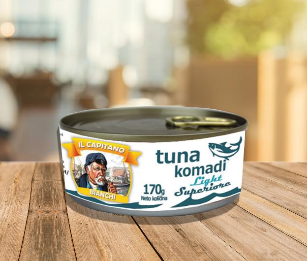 IL Capitano tunjevina u komadima Superior light za zdrav obrok