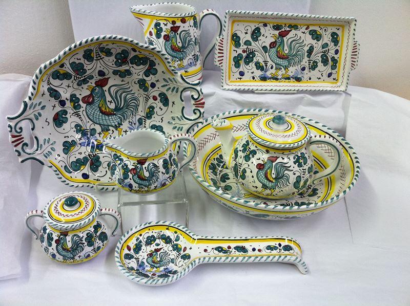 Deruta keramika - italijansko remek-delo praktične primene