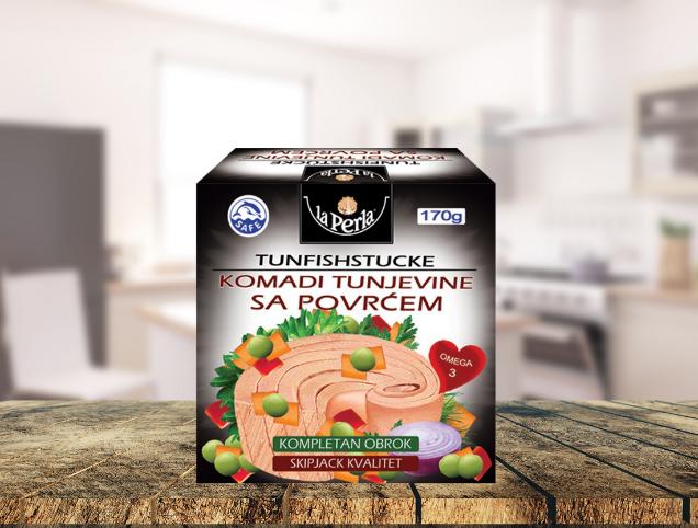 La Perla tuna u komadima sa povrćem  – kompletan i ukusan obrok