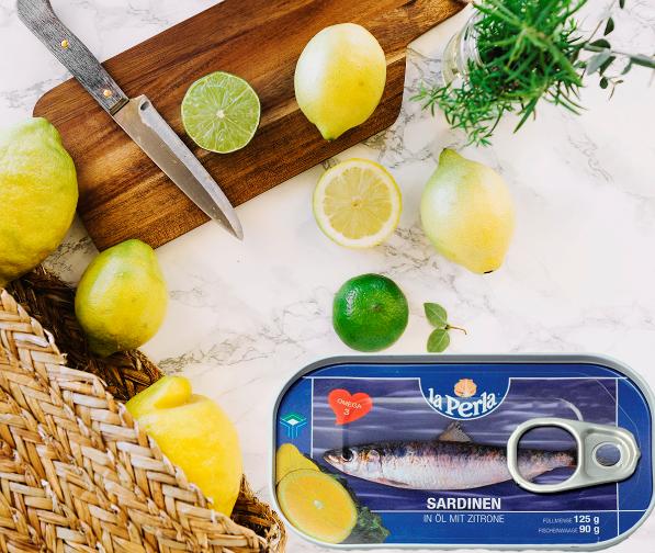 La Perla sardine u ulju sa limunom - riznica zdravlja