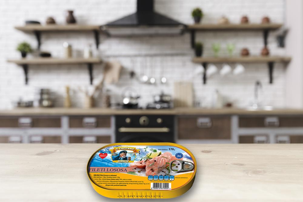 IL Capitano losos u sopstvenom soku – porcija zdravlja