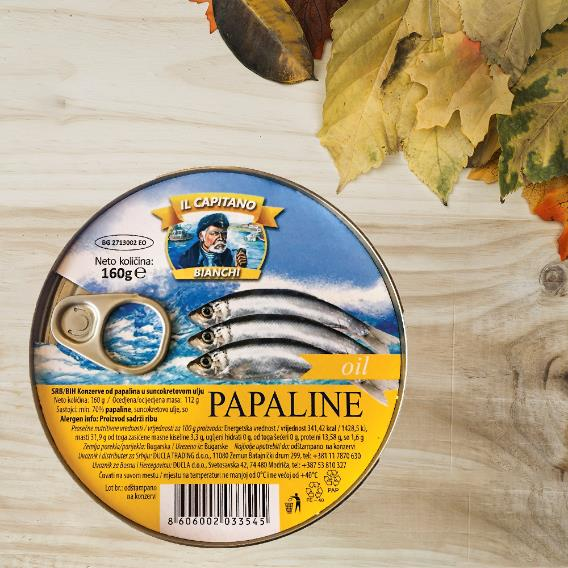 IL Capitano papaline u ulju - male, a izuzetno zdrave!