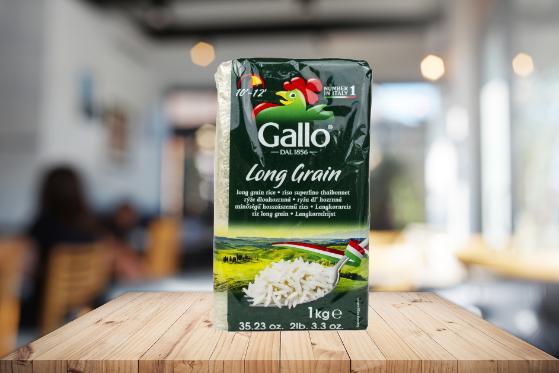 Riso Gallo italijanski pirinač dugog zrna-zdravlje na usta ulazi!
