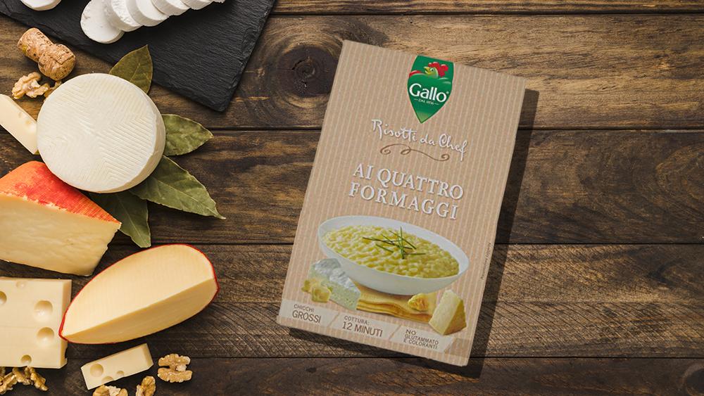 Riso Gallo Risotto 4 vrste sira – obrok u kom ćete uživati