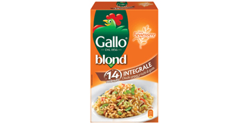 Riso Gallo Blond integrale – idealno izbalansiran obrok