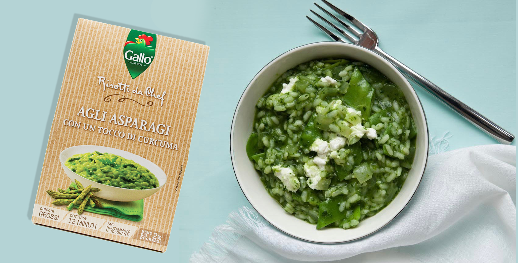 Riso Gallo Risotto špargla - ukusan, zdrav i brz obrok