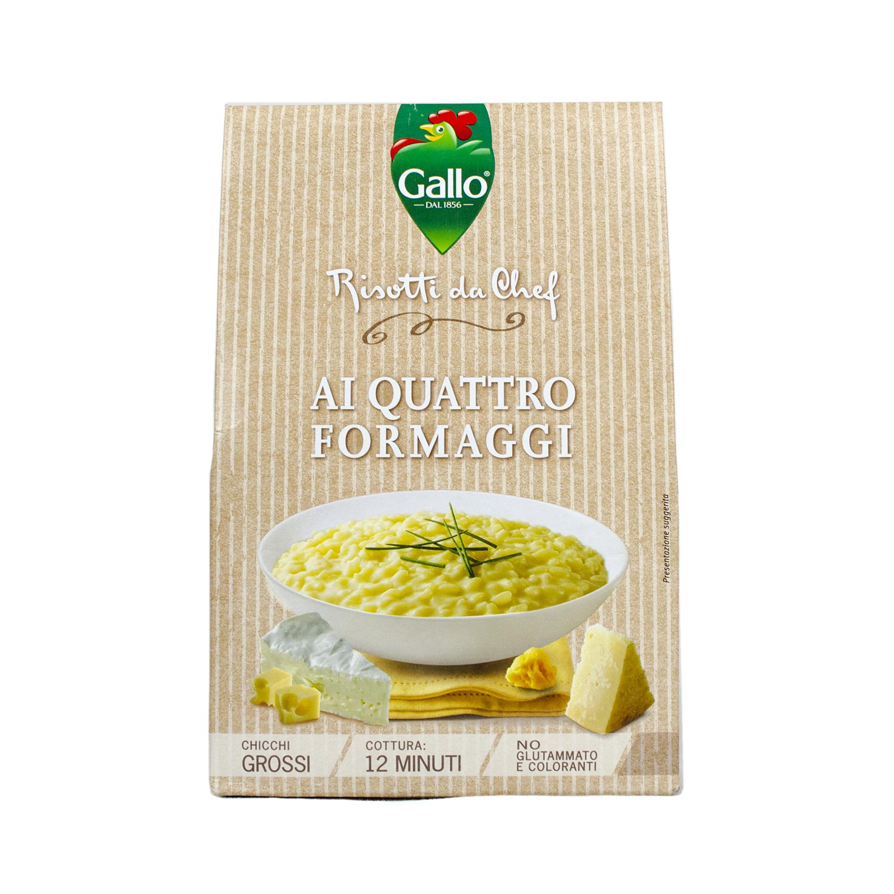 Riso Gallo Risotto Pronto 4 vrste sira