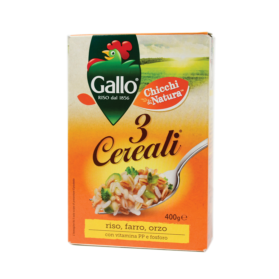 Riso Gallo 3 Cerealli 400g