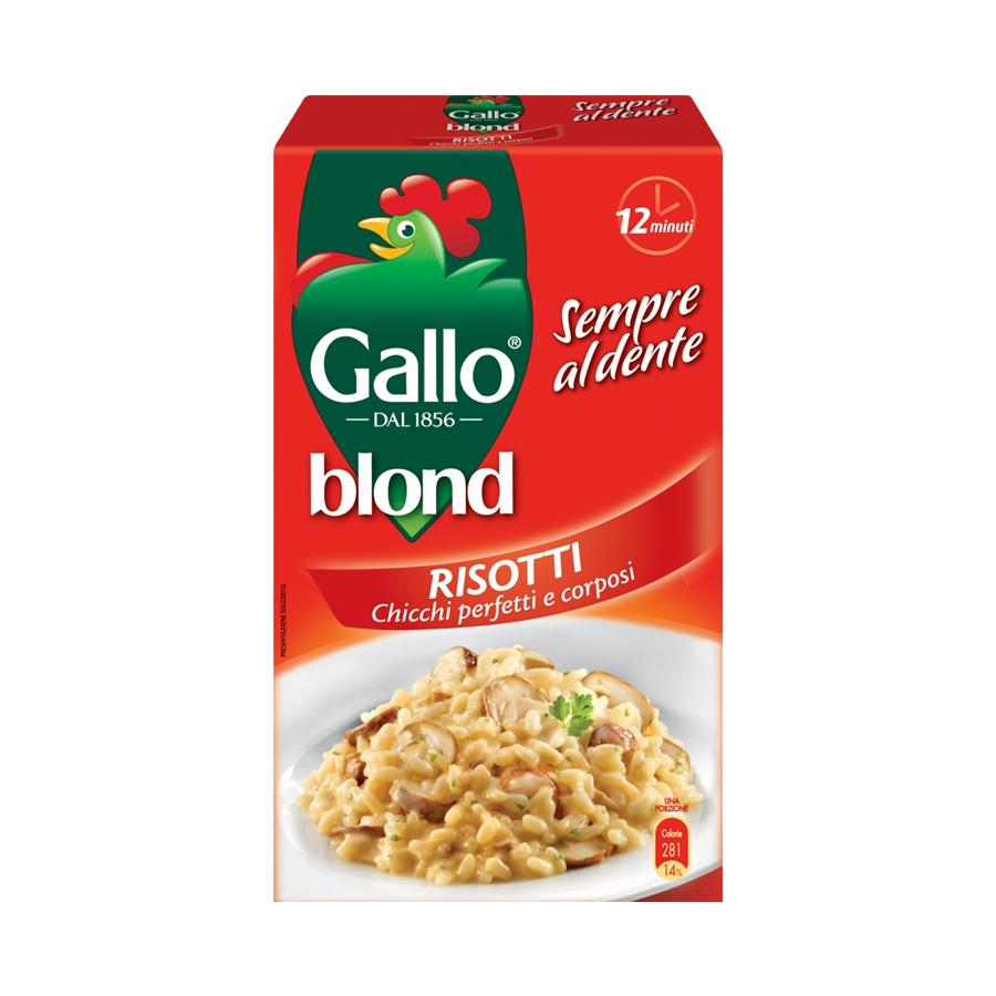 Riso Gallo blond Risotti  – ukusan, brz i zdrav obrok