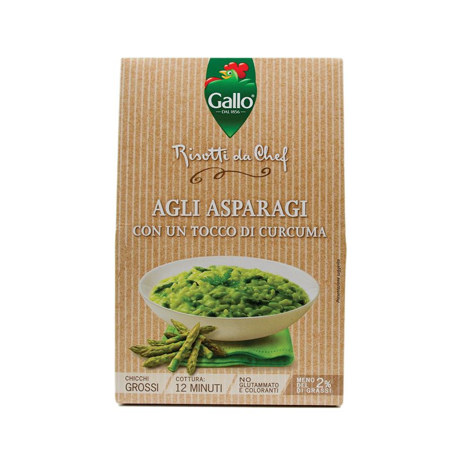 Riso Gallo Risotto Pronto Asparagus 175g