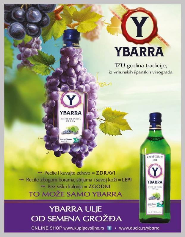 Ybarra ulje – prirodna zaštita od sunca
